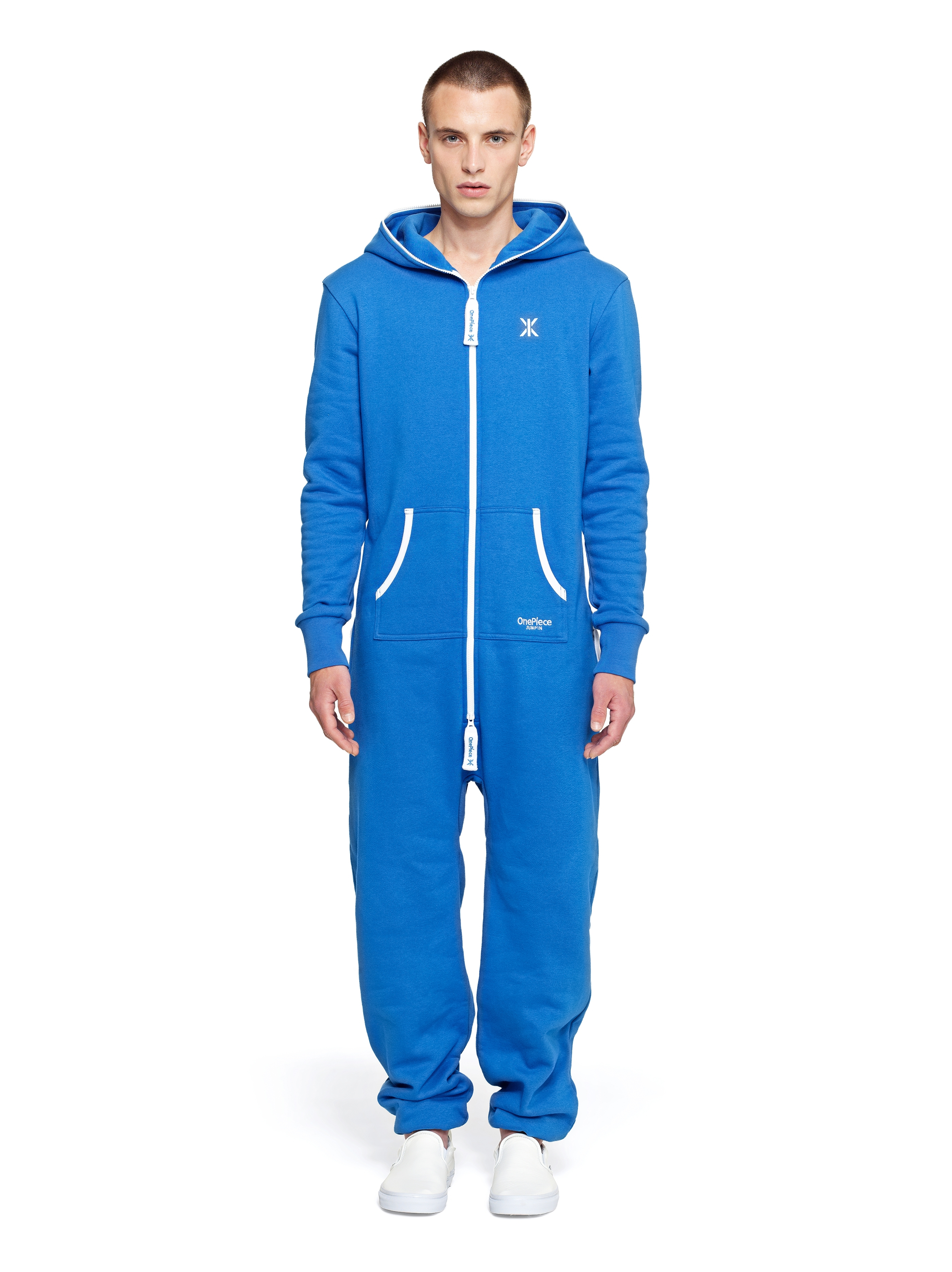 The onesie has become a popular choice for casual wear and people wear them not just at home but while running errands as well. If you are looking for a stylish and comfortable onsie then you should Men's Blue Onesie Pajama Playsuit offered by skylinewears.