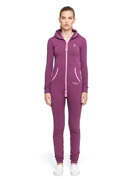 Original Slim Onesie Wine Purple