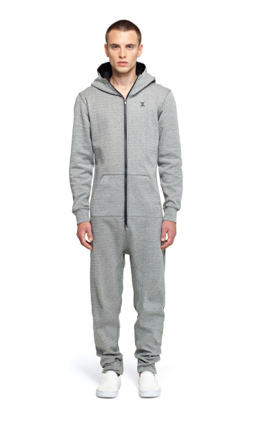 Cocoon Jumpsuit Grey Melange