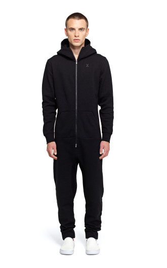Onepiece Cocoon Jumpsuit Black