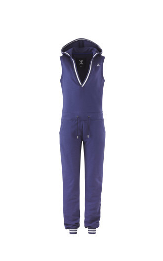 Onepiece Collected Jumpsuit Soft Indigo