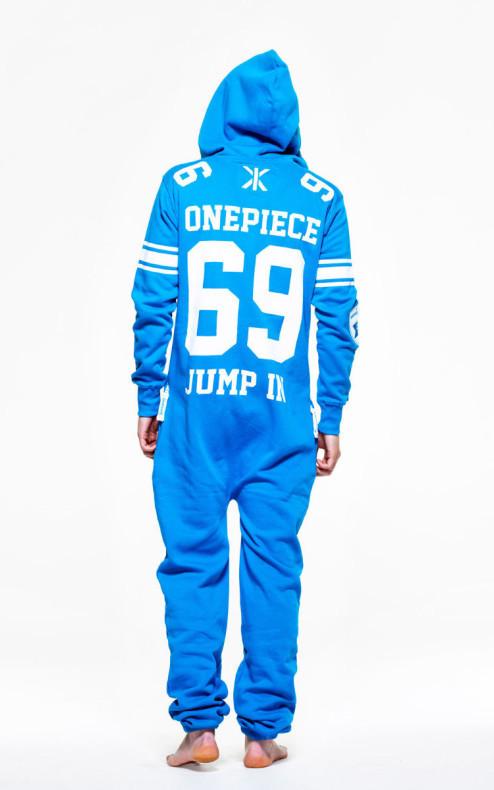 OnePiece College 69 Onesie Azur