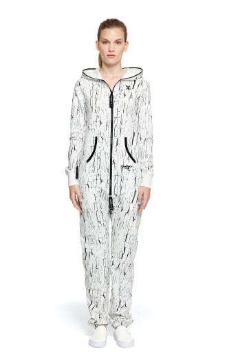 OnePiece Crash Jumpsuit Snow White Printed
