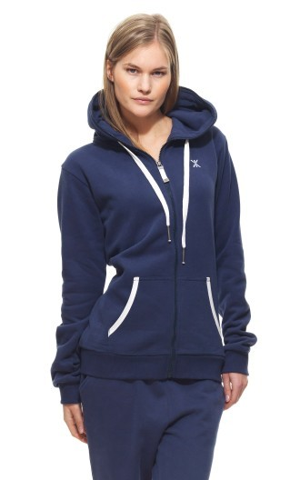 Onepiece Everyday Zip Hoodie Midnight Blue