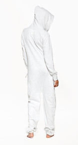 OnePiece Fitted Onesie Light Grey