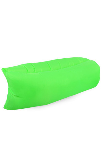 Onepiece Inflatable Lounge Bag Fluorescent Green