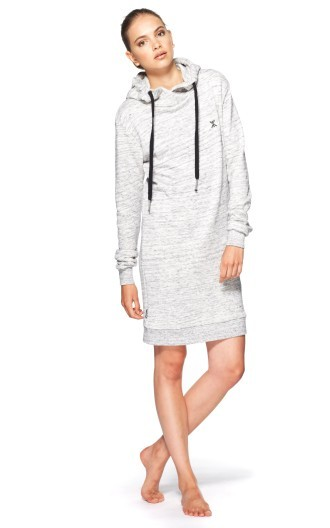 Onepiece New York Long Hoodie Heavy Grey Melange
