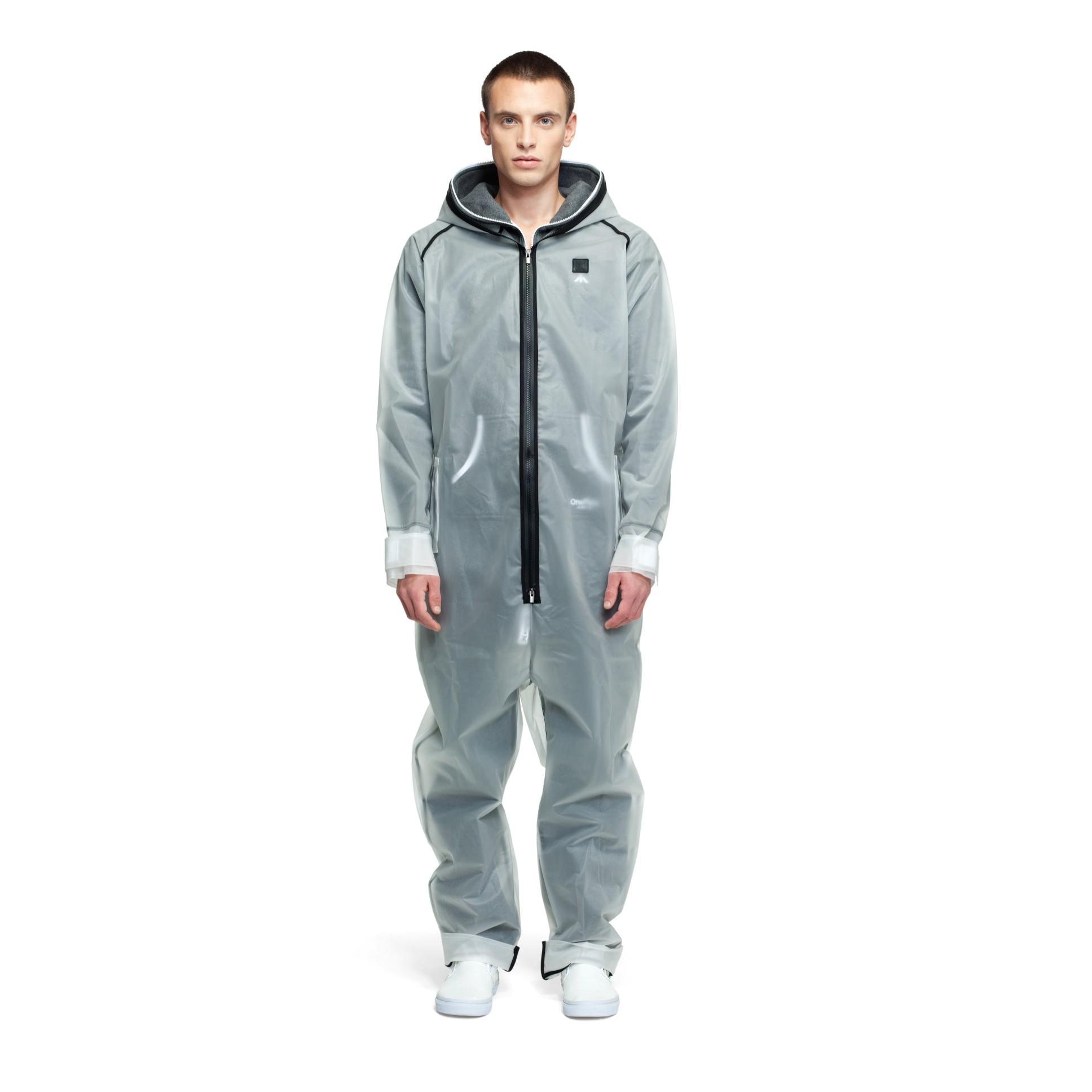 rain jumpsuit transparent frosted onesie onepiece uk. Black Bedroom Furniture Sets. Home Design Ideas