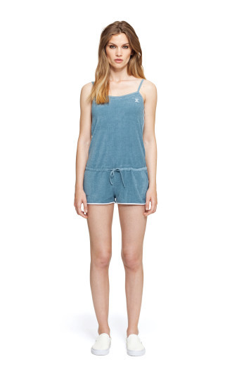 OnePiece Rise Jumpsuit Blue Steel