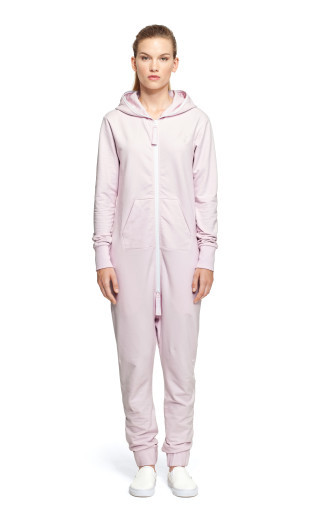 OnePiece Shell Jumpsuit Icecream Pink