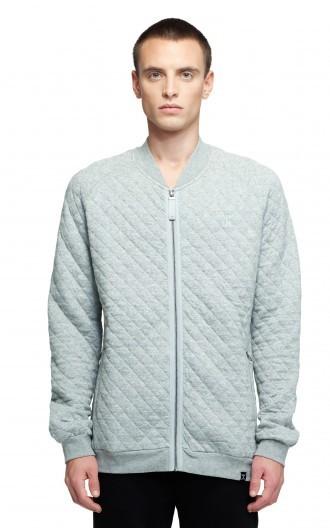 OnePiece Street College Jacket Grey Melange