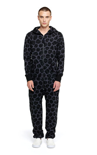 Onepiece Tryphobia Jumpsuit Black Printed