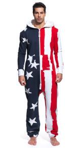 Onepiece USA Stars & Stripes Onesie Lightw.