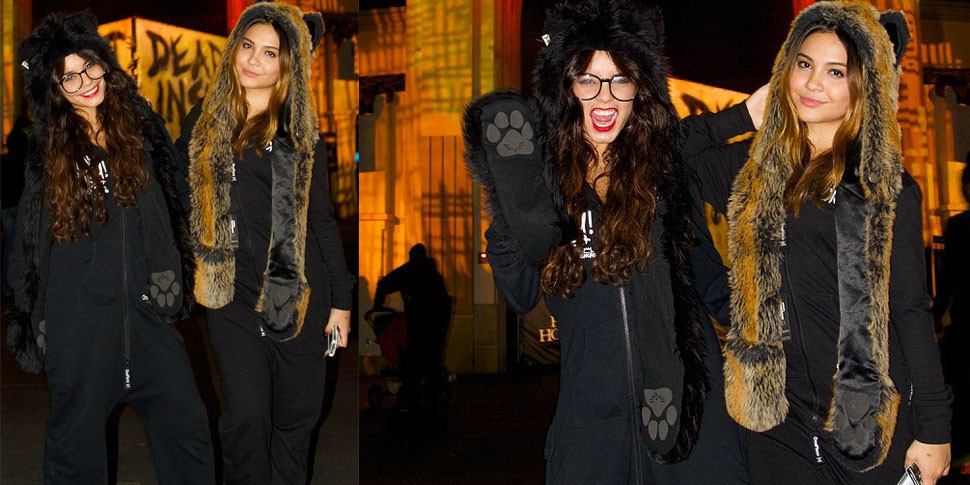 Vanessa Hudgens takes the Yeah Pussy! Onepiece trick or treating